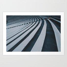 Signals x Brainwaves Art Print