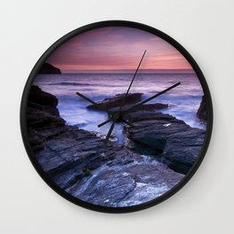 The Sun and the Sea Wall Clock