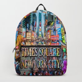 Times Square Tourists Backpack