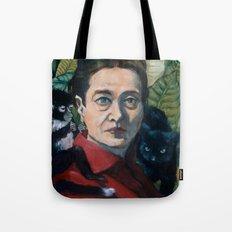 Simone DeBeauvoir Tote Bag