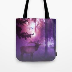 The enchanted forest Tote Bag