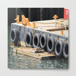 Tugboat: Seattle Metal Print
