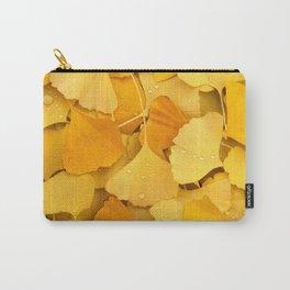 Gingko Biloba Yellow - Chinese Medicin Carry-All Pouch