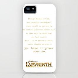 Goblin City iPhone Case