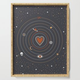 Love Universe Serving Tray