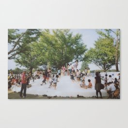 kids in the park Canvas Print