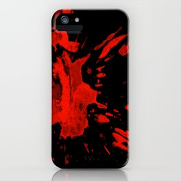 Blood Witch Halloween iPhone Case