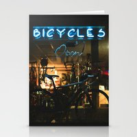 bicycles Stationery Cards featuring Bicycles   by {she tells stories}