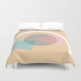 Imperfect Geometries #4 Duvet Cover