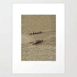Do not row gentle Art Print