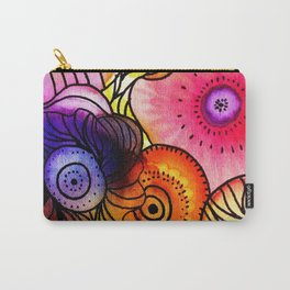 Power Floral Carry-All Pouch