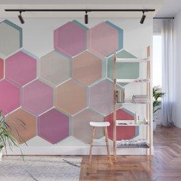 Layered Honeycomb 003 Wall Mural
