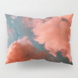 Pink clouds Pillow Sham