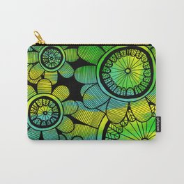 Big Floral 2 Carry-All Pouch