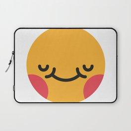 Emojis: Blush Laptop Sleeve