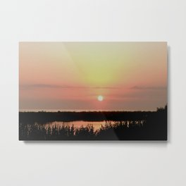 Marco Island Gulf of Mexico Sunset Metal Print