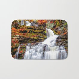 Autumn Waterfall Bath Mat