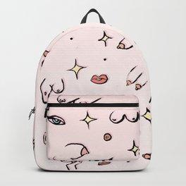 Feminine // Boob Pattern Backpack