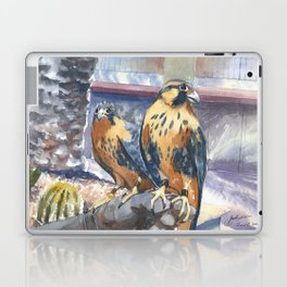 Two Baby Falcons Laptop & iPad Skin