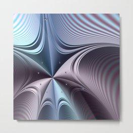 Warping towards a black hole Metal Print