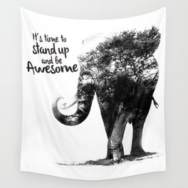 The Awesome Elephant Wall Tapestry