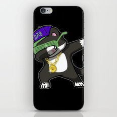 Dabbing Cat Frajola iPhone Skin