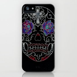 Neon Decay iPhone Case