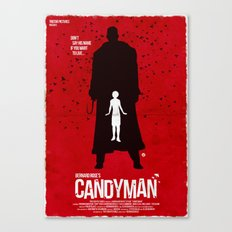 Candyman (Red Collection) Canvas Print