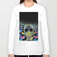 third eye Long Sleeve T-shirts featuring third eye by Blu*