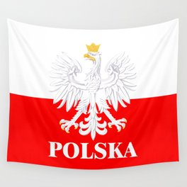 Show off your colors - Polska Wall Tapestry