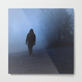 Walk into this void Metal Print