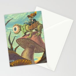 "The Search, 13""x24"" Stationery Cards"