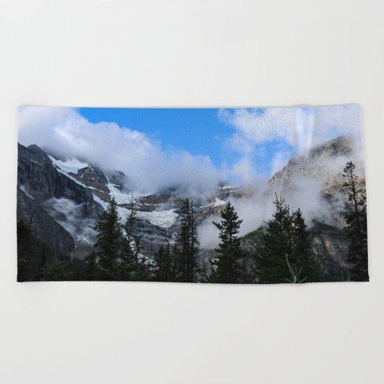 Mountain Sound Beach Towel