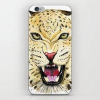 leo iPhone & iPod Skins featuring Leo by Iskoskikh Sveta