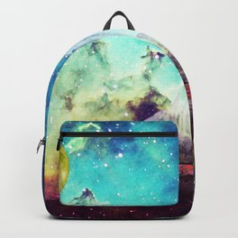 Galileo's Dream - Schooner Art By Sharon Cummings Backpack