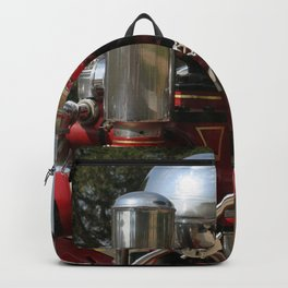 Old Fire Truck Backpack