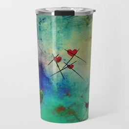 A prick here, a prick there. Travel Mug