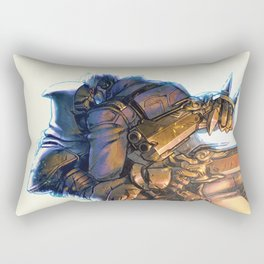Reaper & Soldier 76 Rectangular Pillow