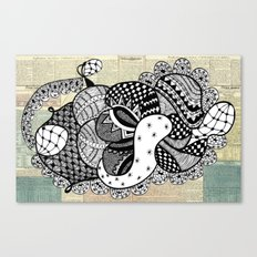 Kiss untimely Canvas Print