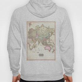 Vintage Map of The Eastern Hemisphere (1818) Hoody