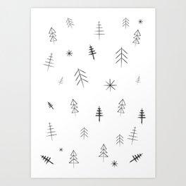 O Christmas tree[s] Art Print