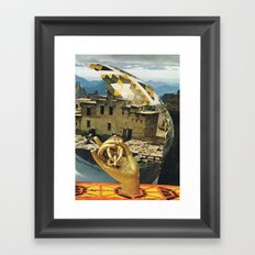 UNTITLED (.) Framed Art Print