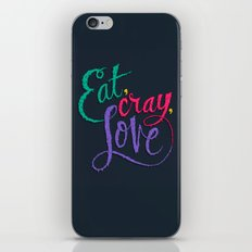 Eat, Cray, Love iPhone & iPod Skin