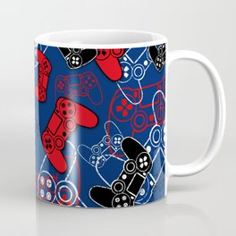 Video Games Red White & Blue Coffee Mug