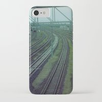 russia iPhone & iPod Cases featuring Russia. Railway. by Slava Joukoff