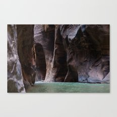 Overreach (The Narrows, Zion National Park, Utah) Canvas Print