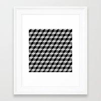 escher Framed Art Prints featuring Escher by Adikt