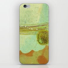 storm at the bay iPhone & iPod Skin