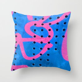 Original Street Art Graffiti Modern Art Photograph Throw Pillow