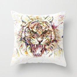 Tatewari Ute'a Tiger Throw Pillow